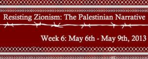 resisting Zionism