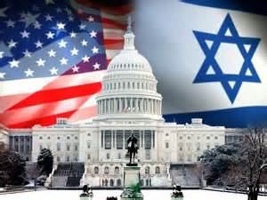 US an Israeli flag